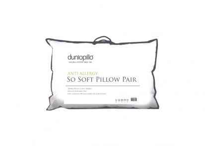 Dunlopillo Anti-Allergy So Soft Pillow Pair