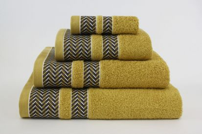 Elainer Duke Bath Towel - Mustard