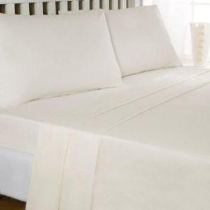 Eleanor James Anabel Sheet Set Cream Double