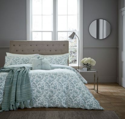 Fable Aviary Celadon Duvet Cover Set - Single