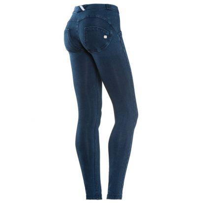 Freddy Mid Rise Dark Denim Jeans