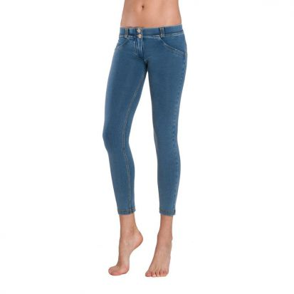 Freddy Mid Rise Light Wash Denim Jeans