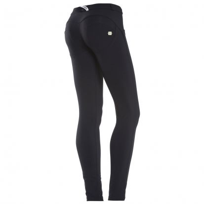 Freddy Mid-Rise Skinny Black Trousers