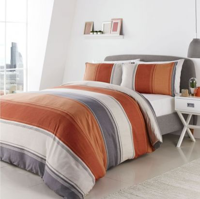 Fusion Betley Spice Duvet Cover Set - King