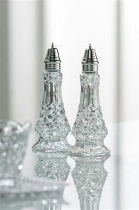 Galway Crystal Ashford Salt & Pepper Set