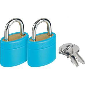 Go Travel Glo Locks - Blue