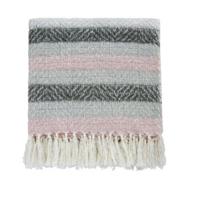 Helena Springfield Liv / Arken Blush Woven Throw