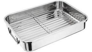 Judge 37cm Roasting Pan with Rack