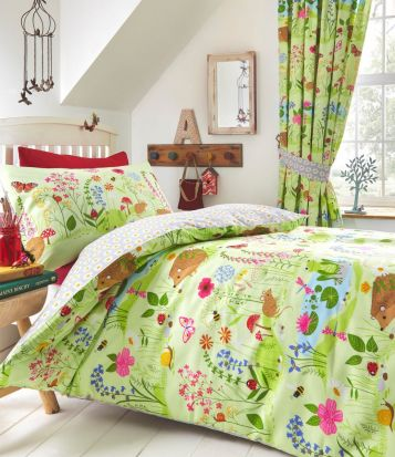 Kid's Club Bluebell Wood Duvet Cover Set Double