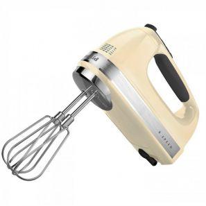 Kitchen Aid 9 Speed Hand Mixer Cream