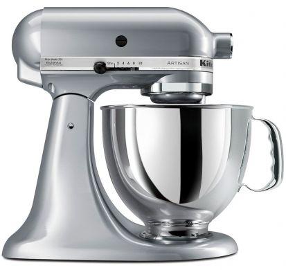 KitchenAid Artisan KSM125 Stand Mixer Pearl Metallic PLUS FREE GIFT!