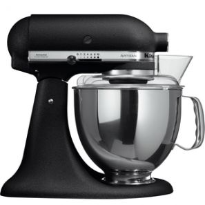 KitchenAid Artisan KSM150 Stand Mixer - Cast Iron Black