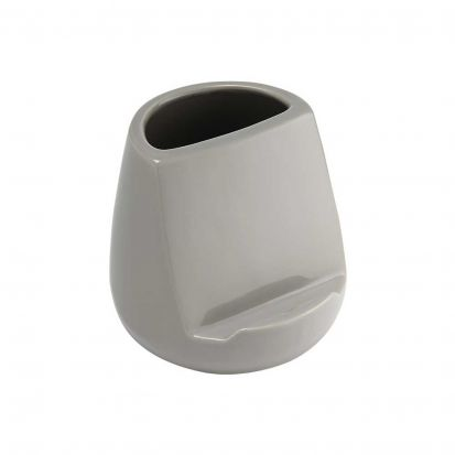 Ladelle Oliver Stone Gloss Utensil Holder and Tablet Stand