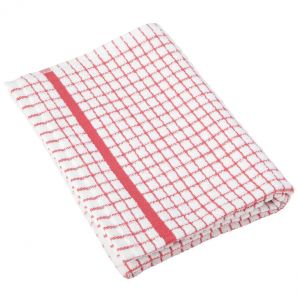 Lamont Polidry Red Tea Towel