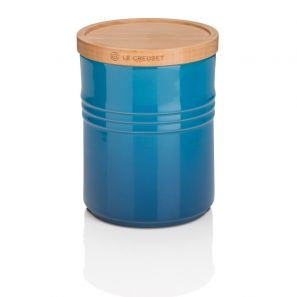 Le Creuset Medium Storage Jar - Marseille Blue