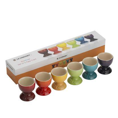 Le Creuset Rainbow Set of 6 Egg Cups