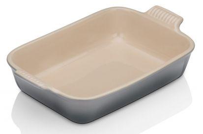Le Creuset Stoneware 26cm Deep Rectangular Dish - Flint