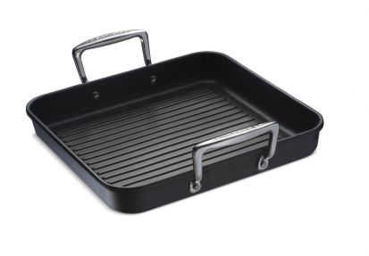 Le Creuset Toughened Non-Stick Ribbed Square Grill 28cm