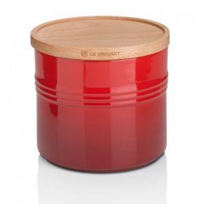Le Creuset XLarge Storage Jar - Cerise
