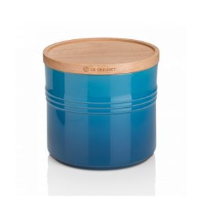 Le Creuset XLarge Storage Jar - Marseille Blue
