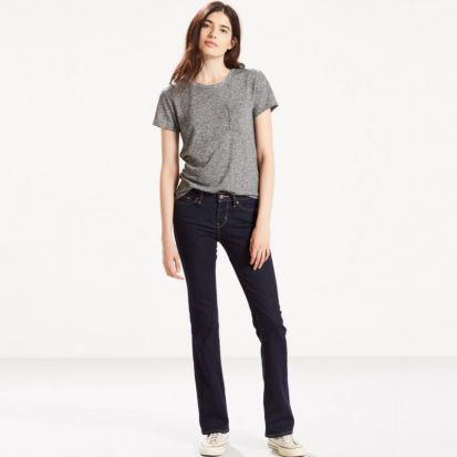 Levis Ladies 715 Bootcut Jeans Lone Wolf