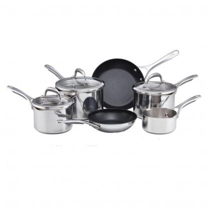 Meyer Select Stainless Steel Saucepan Set - 6 Piece