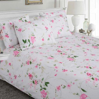 Moda de Casa Finesse Pink Sheet Set King