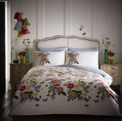 Oasis Ava Multi Duvet Cover Set Double