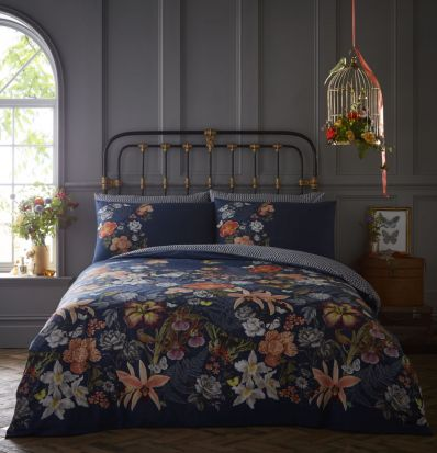 Oasis Botanical Multi Duvet Cover Set King