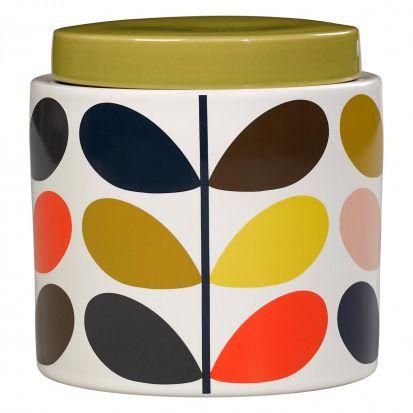 Orla Kiely Multi Stem Storage Jar 1 Litre