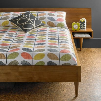 Orla Kiely Scribble Stem Duvet Cover Multi Double