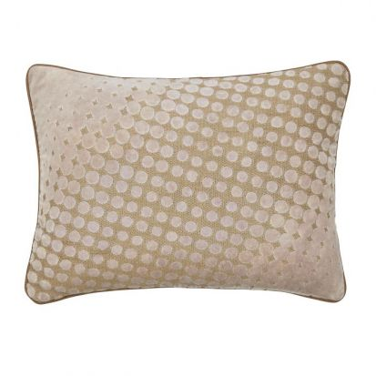 Peacock Blue Rivo Truffle Cushion 40x30cm