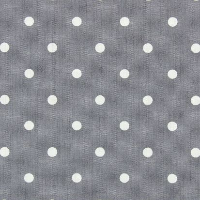 Prestigious Textiles PVC Oil Cloth - Full Stop Dark Grey