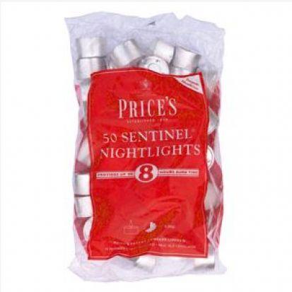 Prices 8 Hour Nightlight Tealights Pk 50