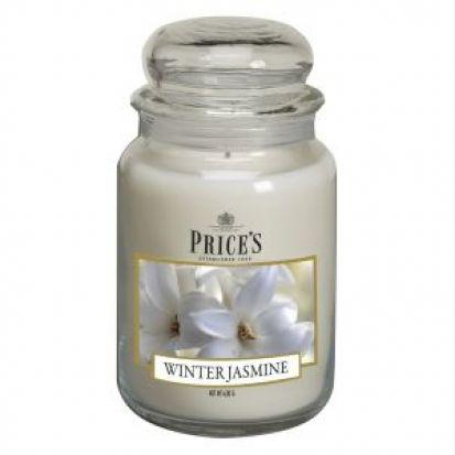 Prices Large Jar Candle Winter Jasmine