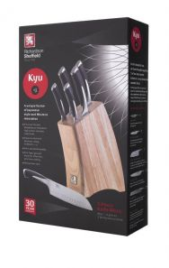Richardson Sheffield Kyu 5Pce Knife Block