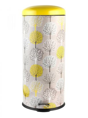 Salter 30L Pedal Bin - Trees Natural