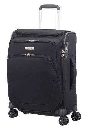 Samsonite Spark SNG Spinner Toppocket 55cm Cabin Case - Black