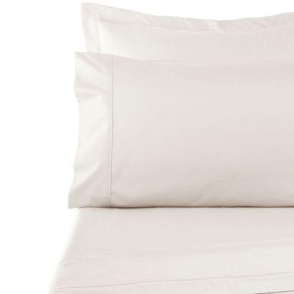 Sanderson 100% Cotton 300 Large Pillowcase Parchment 50x90cm
