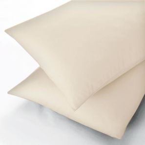 Sanderson 300 Thread Count Ivory Flat Sheet - Single