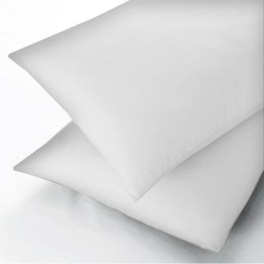 Sanderson 300 Thread Count White Fitted Sheet - Double