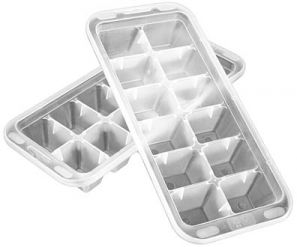 Set of 2 Plactic Ice Cube Trays