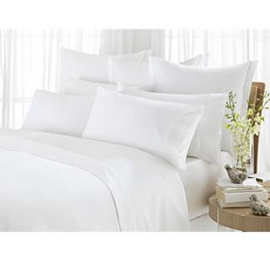 Sheridan 1000 Thread Count King Flat Sheet Vanilla