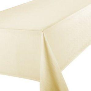 Signature Cream Tablecloth 70