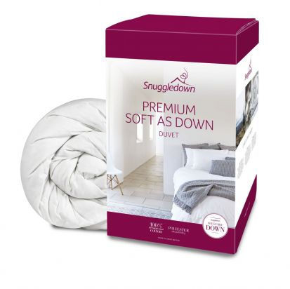 Snuggledown Premium Soft as Down Duvet - Superking