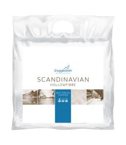 Snuggledown Scandinavian Mattress Topper Double