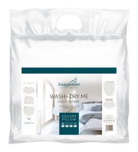 Snuggledown Wash & Dry Me Square Pillow