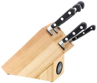 Stellar Sabatier 5 Piece Knife Block Set