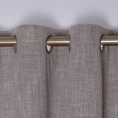 Stonewash Biscuit Ready-Made Curtains 132