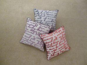 Stratton Filled Cushion - Purple
